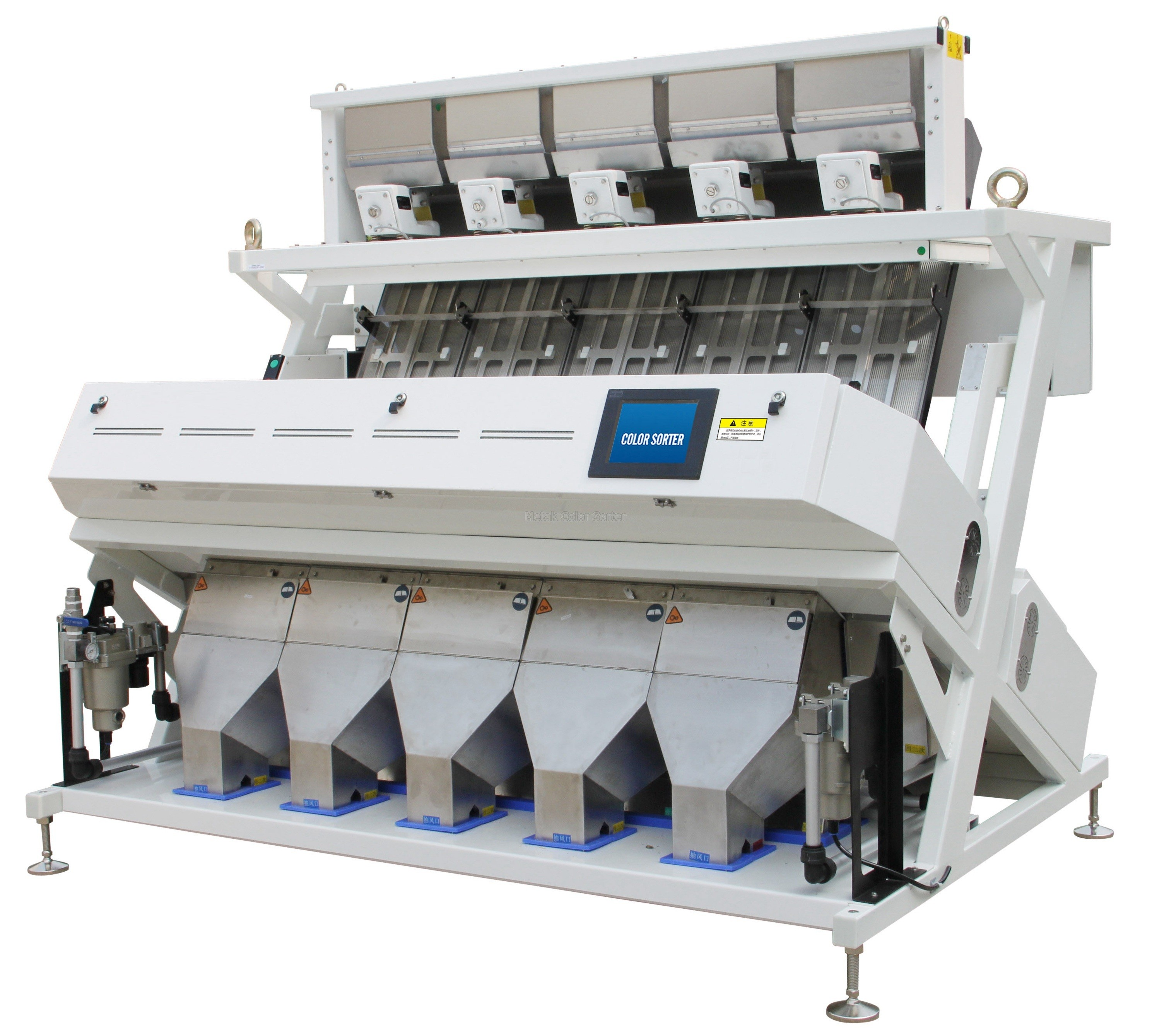 CCD Wheat Color Sorter Machine RCSK5 - Metak Color Sorting