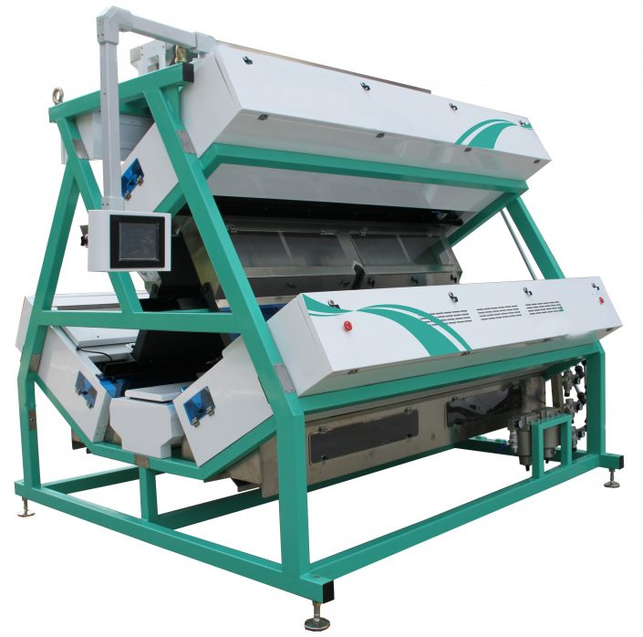 Optoelectronic Tea CCD Color Sorter Machine TCSV3 - MeTak Color Sorting_1