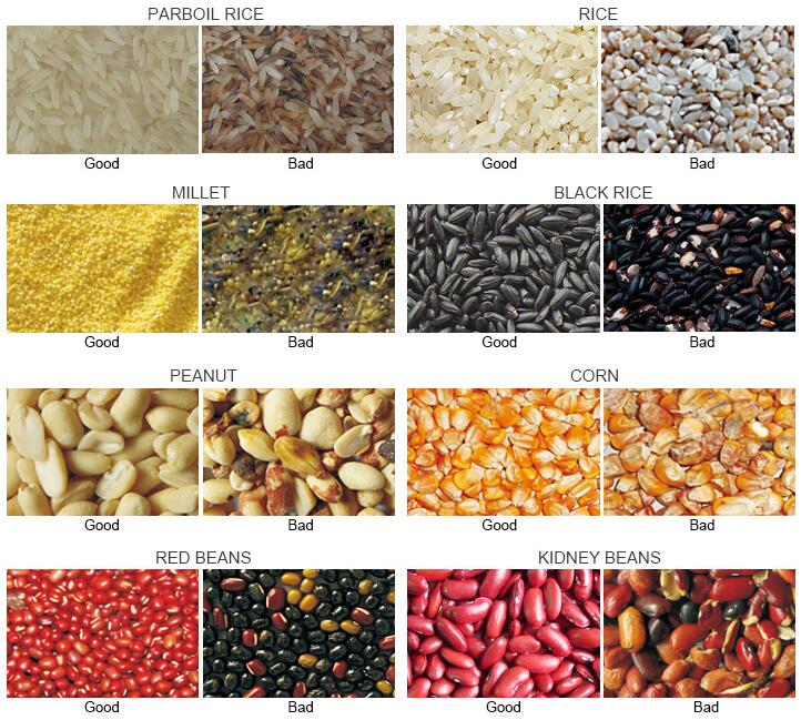 Rice CCD Color Sorting Machine Manufacturer RCSS